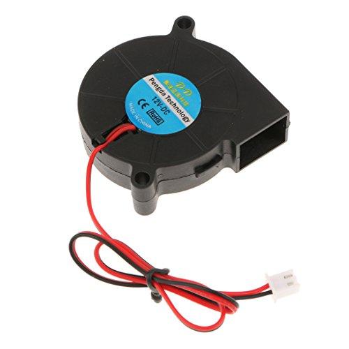 MagiDeal Radiateurs 3D 12V DC Radial Ventilateur De Refroidissement 3D Imprimante