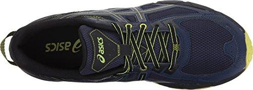 ASICS Men's Gel-Venture 6 Running Shoe, Indigo Blue/Black/Energy Green, 11 Medium US