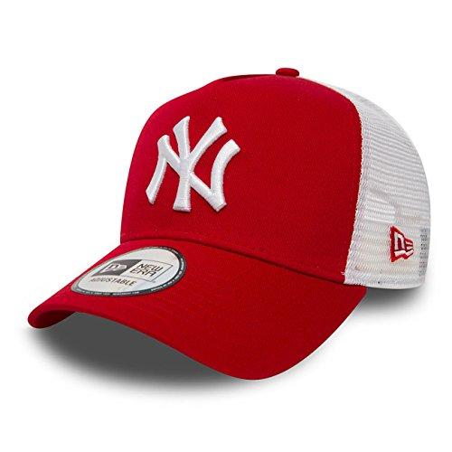 New Era Trucker Mesh Cap im Bundle mit UD Bandana NY Yankees Red - 2833
