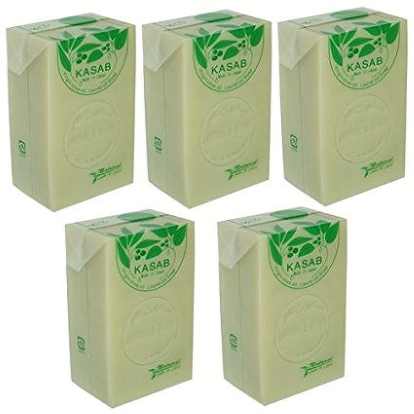 回復する増幅扇動するカサブ石鹸5個セット