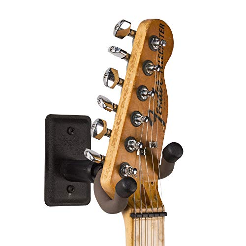String Swing Guitar Wall Mount Black Metal BCC11K Home and Studio Guitar Keeper