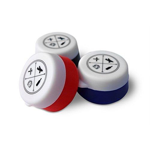 Medium Refillable Cosmetic Container locking lid silicone travel accessories