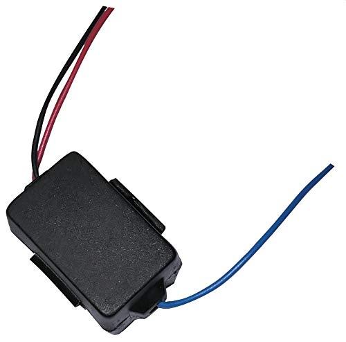 AERZETIX - Filtro de interferencias - 5A - 12V - Auto - Coche - Sonido - Radio de Coche - C10036
