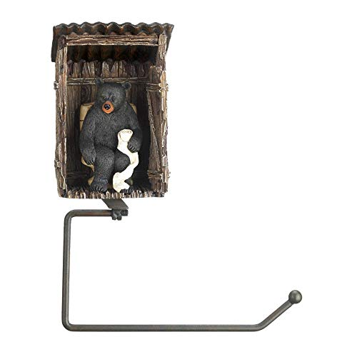 Top 10 best selling list for outhouse bear decorative toilet paper holder