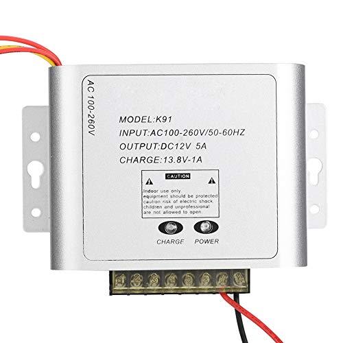 Schalter Netzteil, Aluminiumlegierung Silber CCTV-Monitor Netzteil Monitor Netzteil, für zu Hause