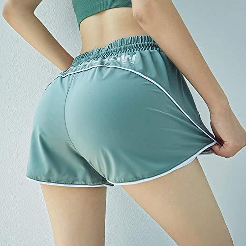 WUANNI Legging De SurvêTement pour Yoga Fitness Augmenter,Short à séchage Rapide pour Femmes,...