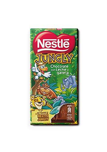 Nestlé Extrafino Jungly Tableta 125 g - Pack de 18