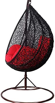 Hanging Chair For Outdoor Places Black - AL438