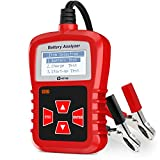 Kzyee KS21 Auto Battery Tester, 12V CCA Car Battery Load Tester Digital Analyzer for Vehicle Battery Health,Cranking and Charging System