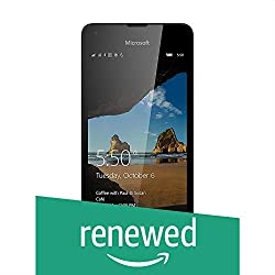 (Certified REFURBISHED) Microsoft Lumia 550 (Black, 8GB)