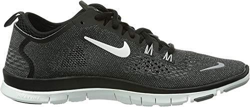 Nike Free Tr 4 629496-007 Damen Fitnessschuhe Schwarz (Black/White-Cool Grey-Wolf Grey) 36.5