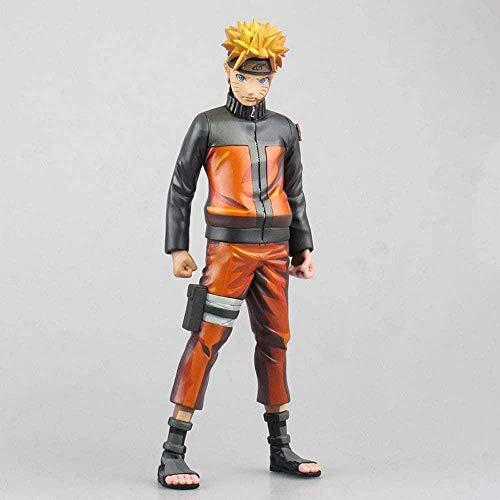JIANGCJ Hermosa Naruto Siete Generaciones de Naruto Edición Limitada Naruto Uzumaki Versión Manga Naruto Boxed Anime Figure Figura Decoración Estatua Muñeca Modelo Colección Toy Altura 25 cm