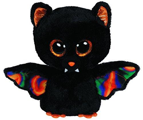 Ty SCAREM Halloween Bat Glitter Eye Pink, 15?cm, Beanie Boo's Limited by Beanie Boos