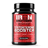 Testosterone Booster for Men - Estrogen Blocker - Supplement Natural Energy, Strength & Stamina - Lean Muscle Growth - Promotes Fat Loss - Increase Male Performance (1 Bottle ) 90 Capsules/Pills