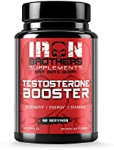 Testosterone Booster for Men - Estrogen Blocker - Supplement Natural Energy, Strength & Stamina - Lean Muscle Growth - Promotes Fat Loss - Increase Male Performance