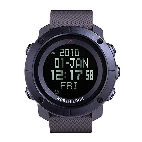 Sports Watches Relojes de Hombre North Edge Hombres Moda Ejército Militar Profesional Deporte al Aire Libre Correr a Prueba de Agua Natación Inteligente Reloj Digital Relojes de Mujer