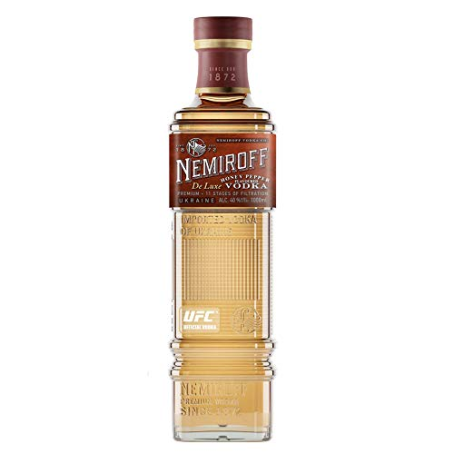 Nemiroff de Luxe Honey Pepper Flavoured Wodka (1 x 1 l)
