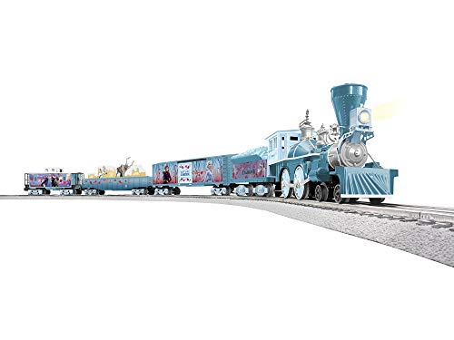 Lionel Disney's Frozen 2 Electric O Gauge Model Train Set w/Remote and Bluetooth Capability, Frozen 2 Model Train Set, 2023040