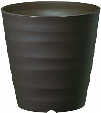 大和プラスチック (ACTOR) 鉢・プランター フレグラーポット 43型 大型サイズ ダークブラウン 奥行43×高さ43×幅43cm