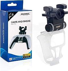 Game and Smoke PS5   Shisha-Schlauchhalter für PS5-Controller