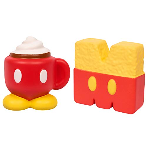 TMEOG 2 PCS Squishies Kawaii Cr/ème glac/ée Ninja Renard Slow Rising Fragrant Anti-Stress Toys Decorations Gifts for Adult Children