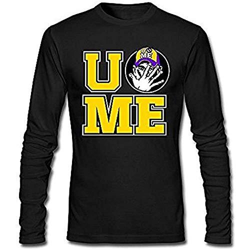 Heren Ww John Cena U Cant See Me Logo T-shirt met lange mouwen