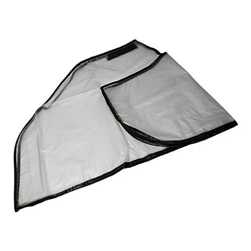 perfeclan Golf Regenschutz Regencover mit Reißverschluss für Golftrolley Golfbag, 130 x 150 cm