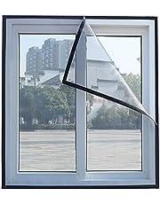 Fly Screen Mosquito Netto venster scherm, insectenscherm met zelfklevende tape, mesh scherm voor Mosquito & Bug Protection