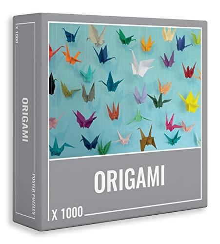 Erwachsenenpuzzle in coolem Origami-Design, 1000 Teile