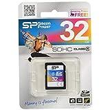 シリコンパワー SDカード 32GB Class4 永久保証 SP032GBSDH004V10