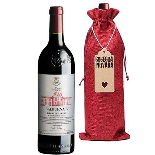 Valbuena 5 Año - Envío Gratis 24H - Botella para Regalo Vino - Vega Sicilia - Vino Tinto - Ribera del Duero - Seleccionado y enviado por Cosecha Privada