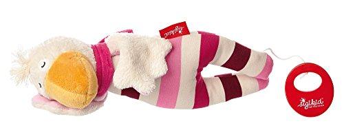 sigikid, Mädchen, Spieluhr, Stofftier Ente, Gisella Goose, Rosa/Pink, 41333