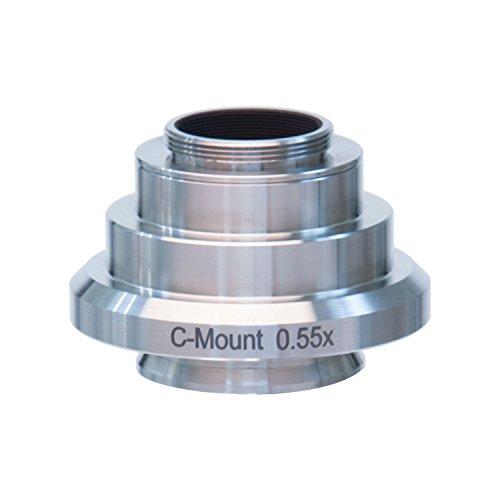 AmScope AD-C03-LC 0.35X RVS C-mount Camera Adapter voor Leica Microscopen