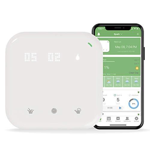 Netro Spark Smart Sprinkler Controller, WiFi, Consciente del tiempo, Acceso remoto (16...