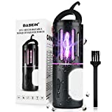 Bug Zapper Mosquito Zappers Killer, 2 in 1 Camping Lantern and Electric Fly Zapper, Waterproof USB Rechargeable Fly Killer Insect Fly Traps for Indoor Outdoor Home Garden, Patio, Backyard