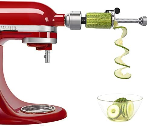 Bestand Spiralizer Attachment 7 Blades Compatible with KitchenAid Stand Mixer Comes with Peel product image
