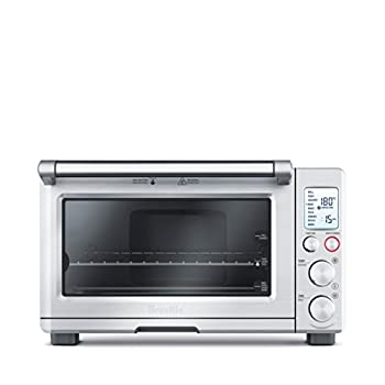 Breville BOV800XL Smart Oven 1800-Watt Convection Toaster Oven with Element IQ in Silver color