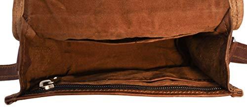 41NhZqdQbaL - Gusti Bolso Nature - Bolso Bandolera de Piel Pequeno Bolso Vintage (L)