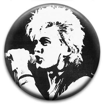 Billy Idol Gen X Button Badge