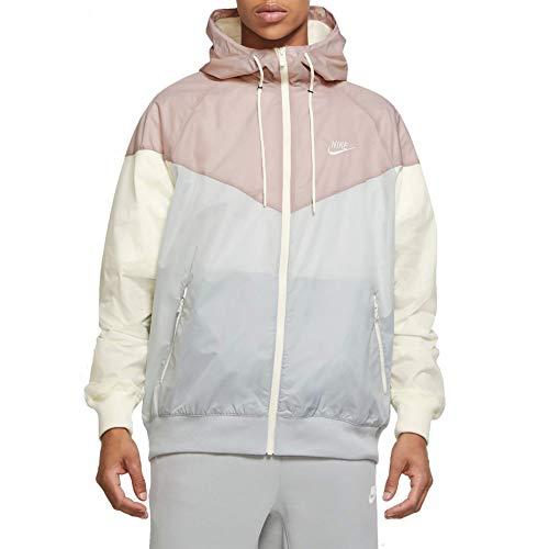Nike Chaqueta cortavientos con capucha para hombre Windrunner AR2191-077 Talla XL