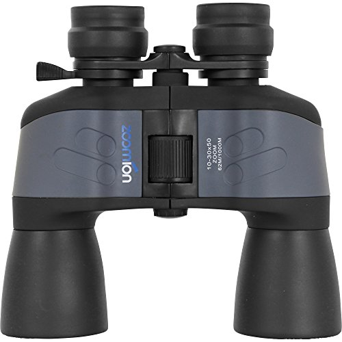 Zoomion Pelican 10-30x50, prismáticos con Zoom y Factor de Aumento Ajustable Entre 10 y 30