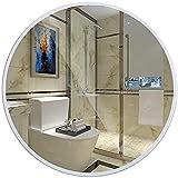 CDDSML Spiegelkreis Badezimmerspiegel, Metallrahmter Make-upspiegel, Eitelkeit Schlafzimmer...