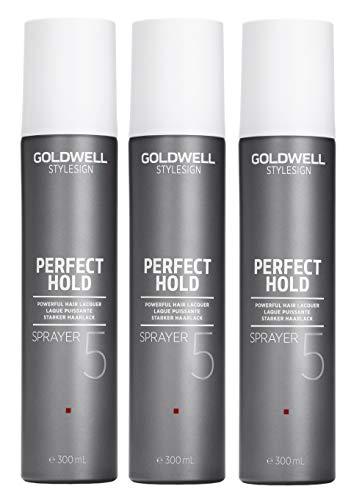 3er Starker Haarlack Goldwell Stylesign Perfect Hold Sprayer 300 ml