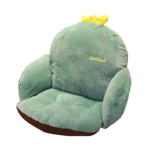 Moonvvin Lovely Cartoon Chair Cushion for Home Office Thicken Seat Pad Sofa Home Decorative Pillow Car Seat