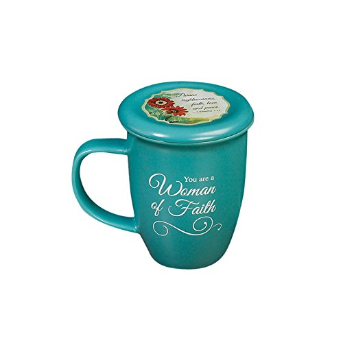Abbey Gift Woman of Faith Mug and Coaster Set