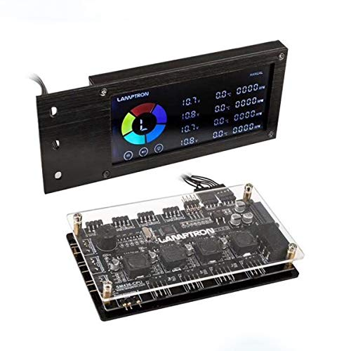 Lamptron SM436 PCI Fan Controller Hub, RGB Display