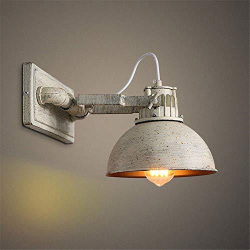 Sencillo pero bonito lámpara de pared Pared Vieja American Metal Industrial retro Pantallas de iluminación al aire libre de la lámpara, Modo de Vida Corredor Habitación Escaleras de noche Estudio de l
