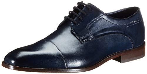 bugatti 312752021100, Scarpe Stringate Derby Uomo, Blu (Dark Blue 4100), 44 EU