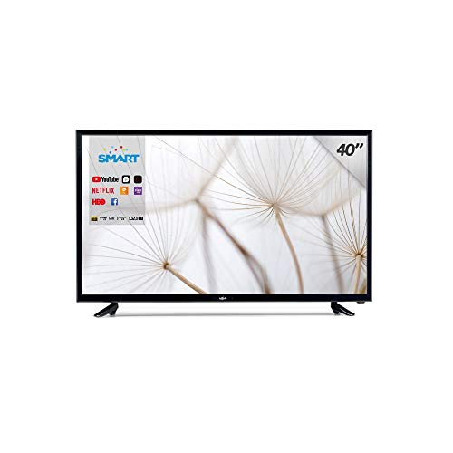 Televisión Smart TV 40' Lagom Led, WiFi, TDT-T2 HD, 2 HDMI, 2 USB