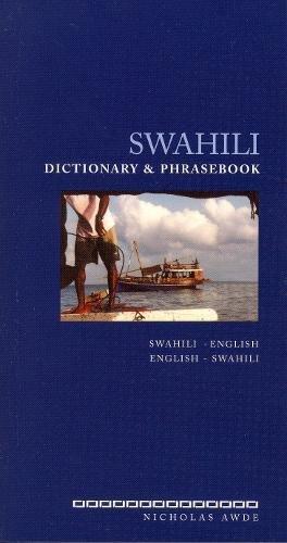 Swahili-English/English-Swahili Dictionary & Phrasebook...